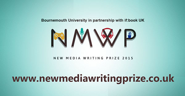New Media Writing Prize 2016 now open for entries - first deadline 30 November 2016