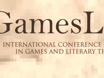 Call for papers: GamesLit, Lost in a game / Lost in a book - deadline 31 March 2017