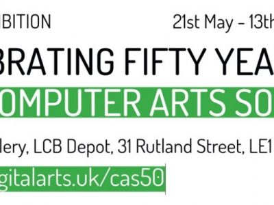 Celebrating 50 years of the Computer Art Society - CAS50 Exhibition and Programme