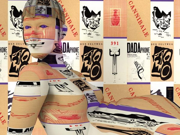 Dadaclub.online: the Exhibition - image by Claudia Hart