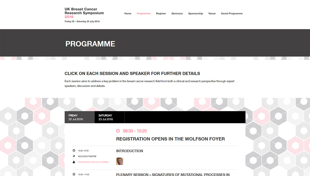 UK Breast Cancer Research Symposium