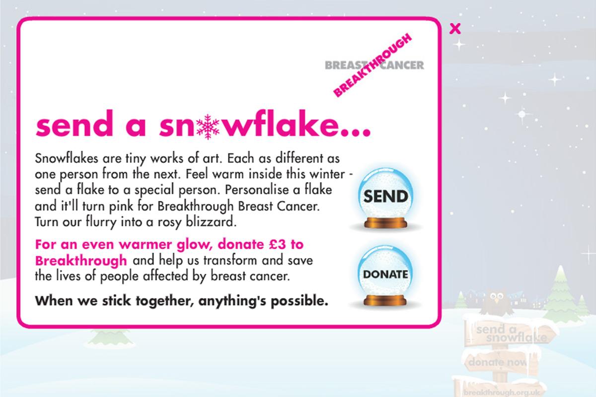 Send a Snowflake
